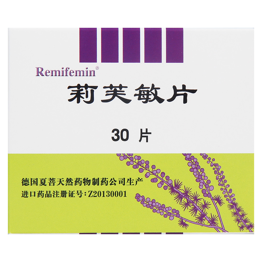 【Remifemin】莉芙敏片 0.28g*30片