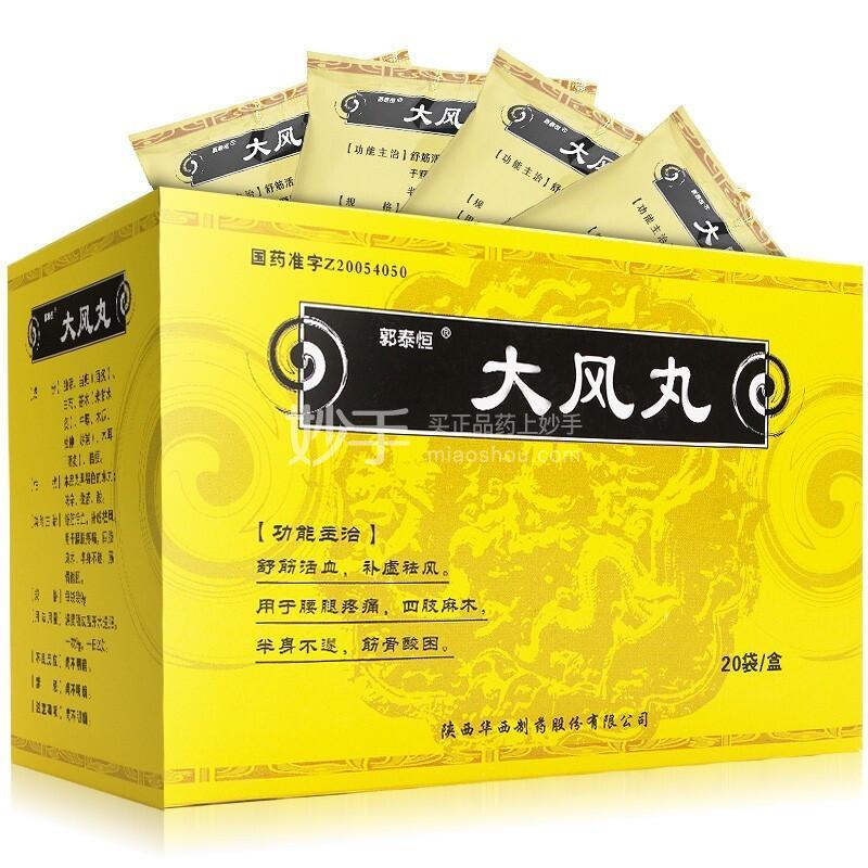 郭泰恒 大风丸 9g*20袋*3盒