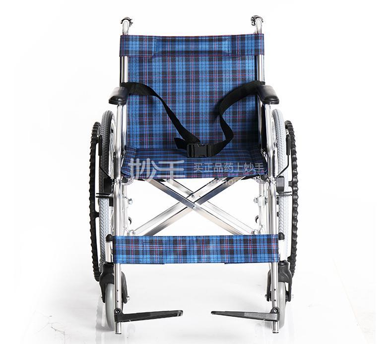 铝合金手动轮椅车