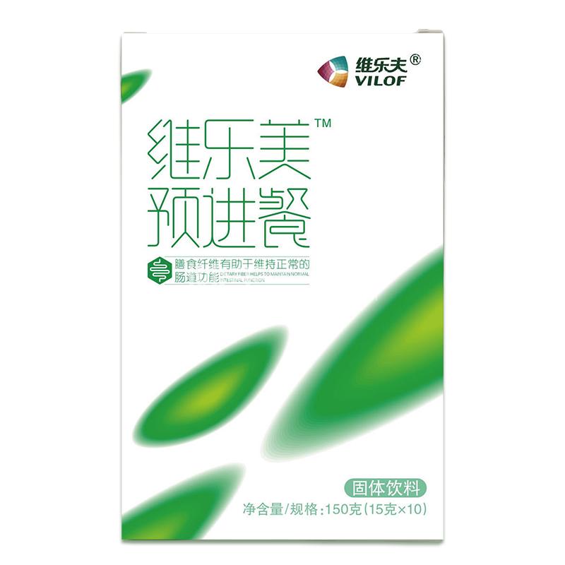 维乐夫 蛋白固体饮料(维乐美预进餐) 150g(15g*10袋)
