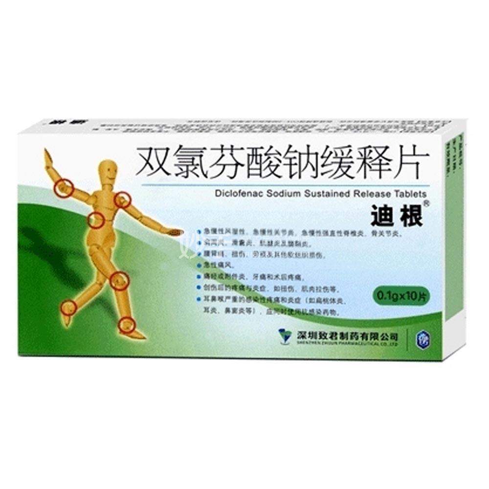 双氯芬酸钠缓释片