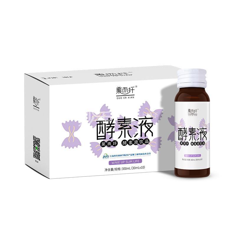 菓而纤 酵素原液 10瓶/盒,30ml/瓶