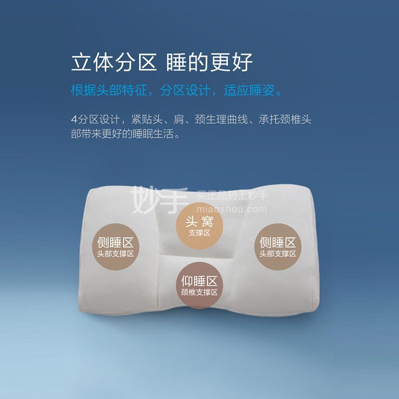 寝研家用 中空管自调颈椎枕 (四分区可调护颈枕B款)