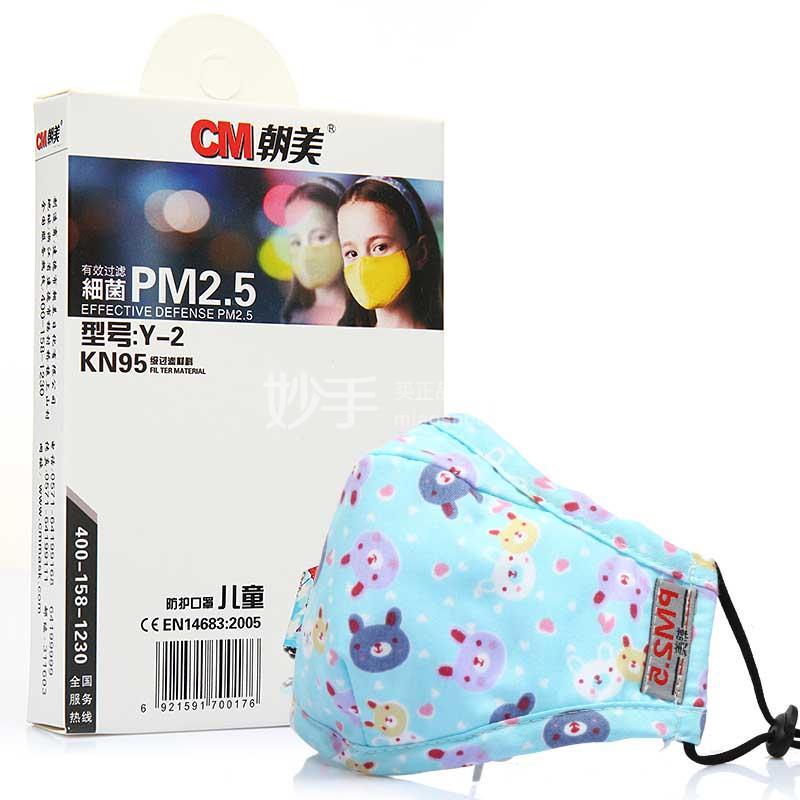 朝美 PM2.5防护口罩滤片 Y-2型