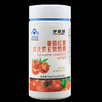 伊路健 番茄红素维生素E软胶囊30g(0.5g*60粒) 30g(0.5g*60粒)